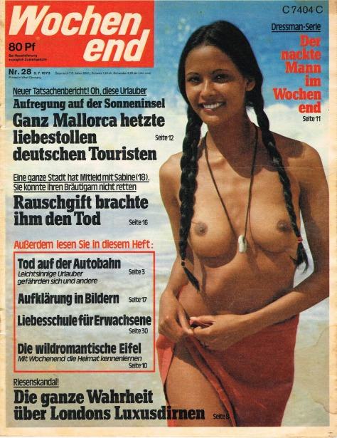 Mag. Wochen end – Juillet 1973 (Allemagne)