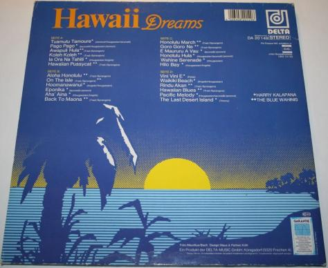 Hawaii Dreams LP Ger.A2