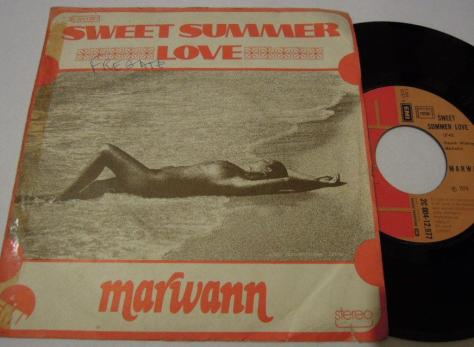 Marwann - Sweet Summer Love EP France