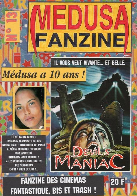 Medusa Fanzine n°13 réédition ltd 2019