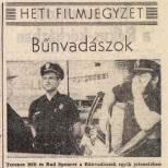 Crimebusters - Pest Megyei Hirlap Juillet 1989 (Hongrie) copie