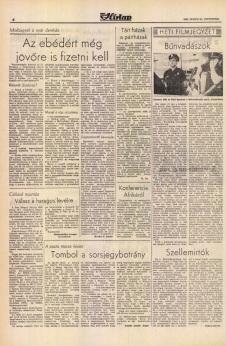 Crimebusters - Pest Megyei Hirlap Juillet 1989 (Hongrie)