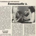 Emmanuelle 2 -Heves Megyei Nepujsag Avril 1990 (Hongrie) copie