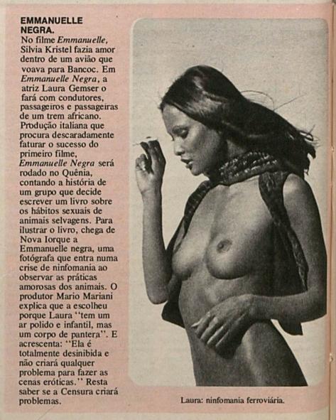 MANCHETE - 10 MAI 1975 Brésil 2