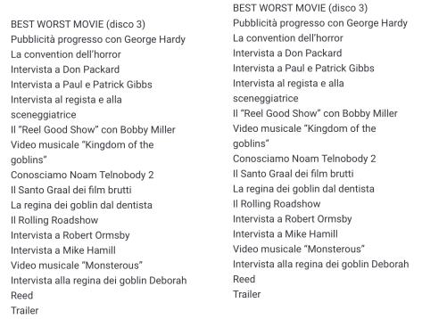 Coffrets Troll 1&2, DVD:BR (Italie) A2