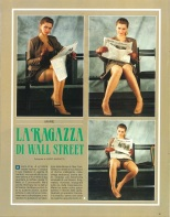 La ragazza di Wall Street - Playmen sept.1988 p01