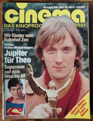 CINEMA das kinoprogramm 1981 - avril 1981 (Ger.) p00