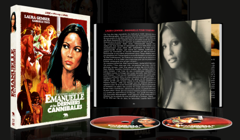 Emanuelle & the last cannibals Mediabook ARTUS 2020 France